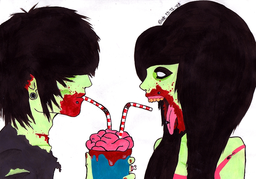 meet emo girls zombie