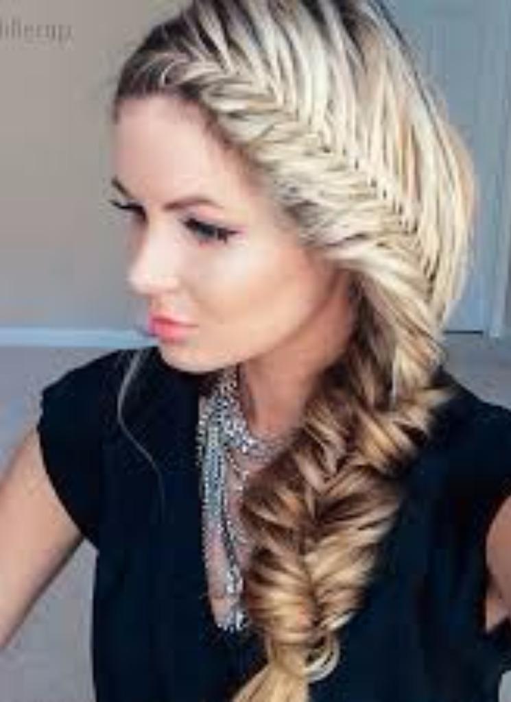 Модные прически плетение косы фото