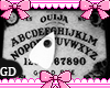 Floating Ouija Cards