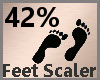 Feet Scaler 42% F