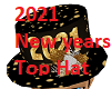 2021 New Years Top Hat