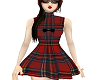 vintage dress tartan