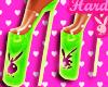 Playboy Green Heels