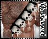 F! Skull Chest Belt