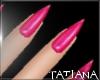 lTl Pink Nails