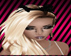 D! Black bow w/ sparkle