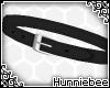 [H] Black LL Tilted Belt