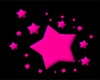 Pink stars emo style