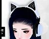 Ⓐ Bk Blue Headphone