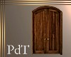 PdT Arch Wood Door Postr