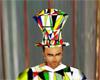 N71 harlequin hat