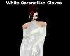 White Coronation Gloves