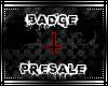 ~CC~J & H Badge Presale