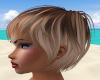 Beige Hair Pixie Cut