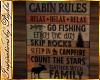 I~Cabin Rules