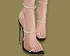 B Diamond Strap Heels
