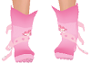 Pink bunny shoes kids