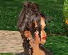 (A) Female Up hair