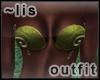 Elven bikini: forest