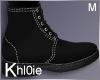 K black Fall boots M