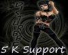5 k Support Sticker