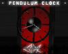 -LEXI- Mod Clock -RED-