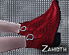 Red Leopard Boots V2