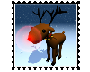 Animated Rudolph Sticker