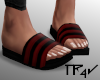 T| Sandals Red