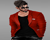 Red Valentine day blazer