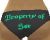 Property of Sage panties