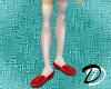Casual Kasumi shoe (red)