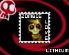 Zombie Love Stamp