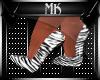 !Mk! Zebra Heels