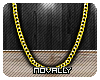 `N 80's Gold Chain