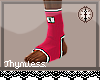 Pink MMA Socks