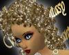 WF>Curly Carol~Ash Blond
