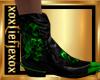 [L] TOXIC Skulls Boots M