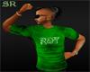 {SR}Green Name Shirt
