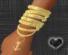 Anchor Gold Bracelet L