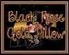 Blck Rose Gold Pillows
