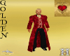 5 Piece Red Suit