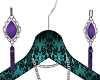 Purple Pattie Earrings