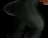 black yoga pant