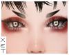 ✘ Edgy eyebrows.