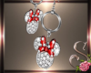$$ Minnie Mouse Earrings