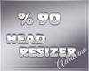 ADR# 90% Head Resizer