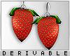 0 | Strawberry Earrings