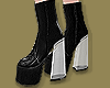 Clear Heels Stompers
