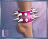 ::iLa:: Pink anklet lt